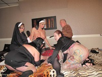 The Monk, Four Nuns & The Sch
