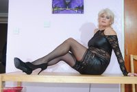 Sexy Black Dress & Pantie