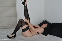 Nylons On The Bed