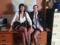 Two Naughty Girls