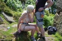 Leek Rock Climbing With B