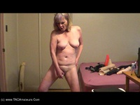 CougarBabeJolee - Fuck Me Standing, Dildo Fuck