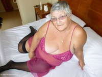 GrandmaLibby - Pink See Through In The Hotel
