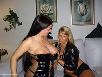 Horny Policewoman Seduces