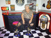 Grandma Libby at the studio