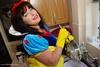 Snow White & Her Yellow Marigolds Pt2