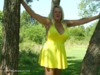 adonna - hot yellow dress